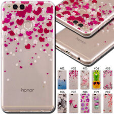 For Huawei Honor Phones TPU Rubber Soft Case Cover Silicone Shockproof Skin Back