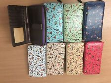 Further Clearance SALE Bird Oilcloth Purse Job Lot 8pc