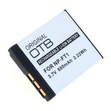 Original OTB Accu Batterij Sony Cybershot DSC-T3 - Akku Battery Batterie 600mAh