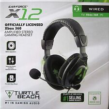 NEW X12 Turtle Beach Headset for Xbox 360 Headphone with mic PC PS4 Stereo (USA)