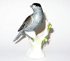 Ancien oiseau en porcelaine de Edme samson porcelain figure of a bird