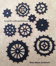 • • • Die Cuts ~ GEARS-COGS x45 9 Sizes ~ Stampin' Up C/S ~ Cards ~ Scrapbooking