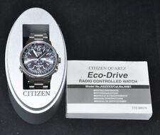 Orologio uomo Citizen Eco-Drive Promaster Titanium Pilot Radio controlled  H461