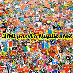 300 Waterproof Skateboard Sticker Bomb Laptop Luggage Decals Dope Sticker Bottle