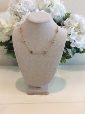 Tory Burch Delicate Gemini Link Necklace