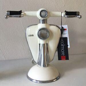 COLMORE Leuchte LAMBRETTA Cream Skulptur Tischleuchte Lampe Retro Nostalgie 30cm