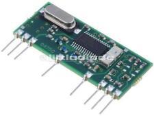 RX-4MM5/F modulo ricevitore RF AM AM chiedere 433.92 MHz - 114dBm 5VDC 7.5 mA 650201110 G