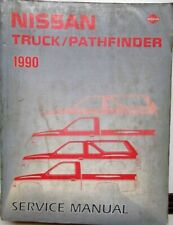 1990 Nissan Truck Pathfinder Shop Service Repair Maintenance Manual OEM Original