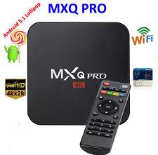 MXQ Pro 4K Amlogic S905 Android 5.1 Quad-Core WiFi Smart TV Box 8GB 64bit