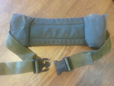 LOT OF TWO  US MILITARY OD GREEN ALICE WAIST KIDNEY BELT PAD LC-2