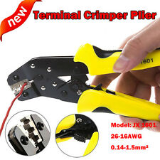 CRIMPING CRIMPER HAND TOOL LUG CABLE PLIER CONNECTOR BARE TERMINAL WIRE PLIERS