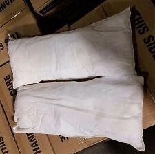 "2 Pack Oil/Diesel/Gas Absorbent Boat Bilge Sock Pillow 8"" x 18"" SHIPS FREE"