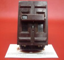 100 Amp Wadsworth 100A 240V  Double or 2 Pole  Main or Branch Circuit Breaker