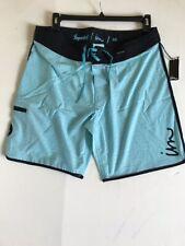 Imperial Motion Boardshort Shorts Light Blue Size 36 NEW