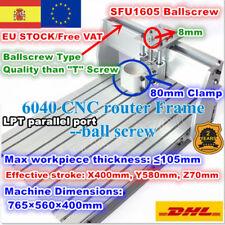 【ES】6040 80mm Desktop Ball Screw CNC Frame Engraving Milling Machine Wood Router