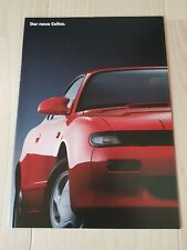 Toyota Der neue Celica Automobil Werbeprospekt Verkaufsbroschüre März 1990
