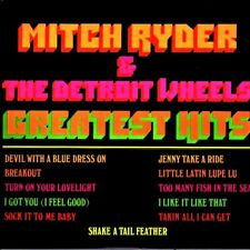 MITCH RYDER AND THE DETROIT WHEELS - GREATEST HITS ****EXCELLENT CONDITION*****