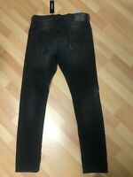 NWD Mens Diesel TEPPHAR Stretch Denim 084GA BLACK Slim W32 L29 H6 RRP£130