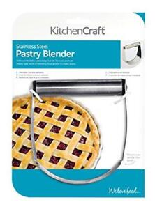 Kitchen Craft Stainless Steel Dough Pastry Baking Blender Cutter Mixer Home Tool
