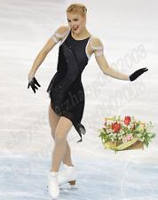 Ice skating dress.Black Competition Figure Skating Dress /Baton Twirling Costume