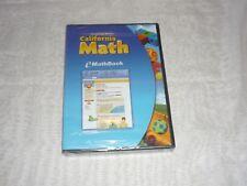 Houghton Miffin California Math E Math Book  NEW & SEALED