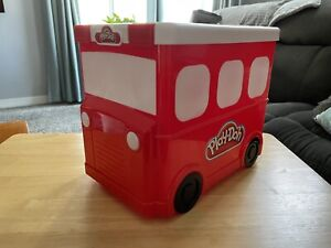Play-Doh Create 'N Store Fire Truck Red Black White 2013