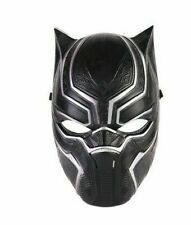 Black Panther Cosplay Mask Helmet Avengers Halloween Costume Props Adult Kids Us