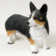 Welsh Corgi Cardigan Hand Painted Collectible Dog Figurine Statue