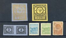 NORWAY 7 x BYPOST LOCAL STAMP -- */(*) --F/VF