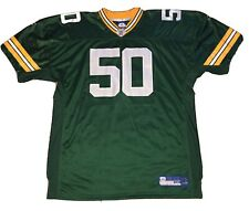 AJ Hawk Authentic Sewn Green Bay Packers Jersey Size 56 Adult