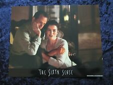 The Sixth Sense lobby card # 2 - Bruce Willis, Haley Joel Osment