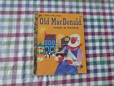 LITTLE GOLDEN BOOK -  OLD MACDONALD HAD A FARM - (PAPERBACK)
