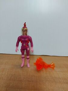 Vintage Kenner Ghostbusters Figure Super Frights Janine Melnitz With Ghost