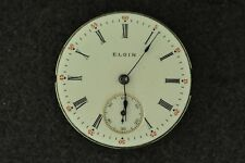 VINTAGE 0 SIZE GRADE 324 H.C. ELGIN POCKET WATCH MOVEMENT - NOT RUNNING