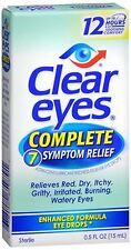 Clear Eyes Complete 7 Symptom Relief Eye Drops 0.50 oz