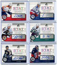 2005-06 SP Game Used  Statscriptions Auto  45/59  Marcel Hossa  #ST-HO
