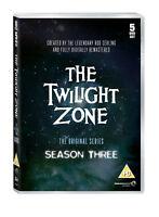 TWILIGHT ZONE COMPLETE SERIES 3 DVD Third Season John Brahm UK Rele Brand New R2
