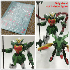D.L high quality Bronzing water Decal For Bandai MG EW Altron Nataku Gundam
