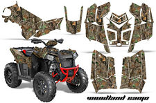 Polaris Scrambler 850/1000 AMR Racing Graphic Kit Sticker ATV Quad Decal 3D CAMO