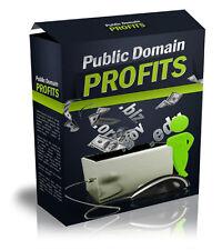 Public Domain Profits eBook & Videos on 1 CD