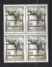 Austria Y17 MNH 1973 Blocks set 4v Military Sport