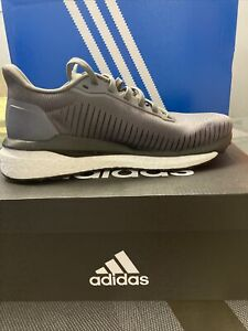 Women's Adidas Solar Drive 19 Breathable Running Trainer Shoes in Grey Sz 5