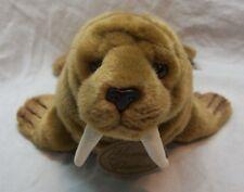 RUSS Yomiko Classics SOFT CUTE BROWN WALRUS 10 Plush STUFFED ANIMAL Toy