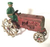 TRACTOR WITH FARMER Die Cast Display only