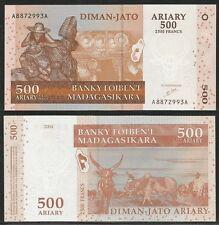 MADAGASCAR - 500 Ariary 2004 UNC Pick 88a