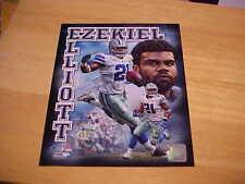 049b42f6aee Ezekiel Elliott Portraits Plus 8X10 Color Photo Licensed 3 or more FREE  SHIPPING