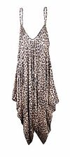 Womens Printed Cami Strappy Lagenlook Jumpsuit Playsuit Top Dress Plus Size