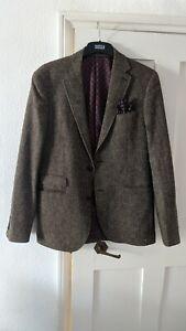 Next Men's Wool Blazer 40L