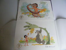 More details for the jungle book 2 x disney ltd edition lithographs frank thomas & ollie johnston