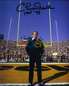 CHUCK NOLL SIGNED PITTSBURGH STEELERS SIGNED 8X10 PHOTO REPRINTAGLES REPRINT